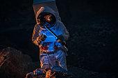 Mission on dark planet