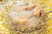 Make fried chicken