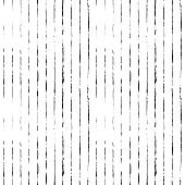 Striped hand drawn vector seamless pattern. Ink lines texture.