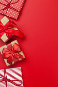 Christmas or Valentine's day gift boxes