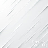 Cuts on white paper. Backdrop with diagonal slits on blank sheet.