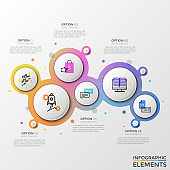 Modern Infographic Vector Template