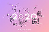 2020 Year of Opportunities Concept