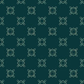 Vintage geometric pattern. Seamless vector background. Green ornament. Ornament for fabric, wallpaper, packaging, Decorative print.