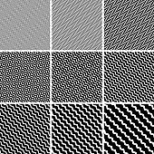 diagonal zigzag stripes line pattern, vector network patterns with diagonal zigzags
