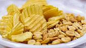 Potato Chips and Peanuts 1