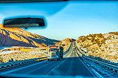 On US roads