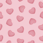 pink blur hearts seamless pattern for valentines day, 14th February, romantic love day Celebration paper cut design vector illustration