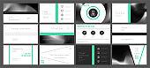 Presentation template design