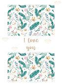 Wedding Invitation, grey ribbon and invite card geometric. Horizontal elegant Rectangle frame. White square background. watercolor. Greeting card, cute celebration. Living coral