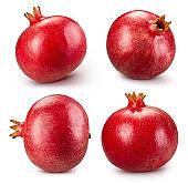 Pomegranate fruit isolated