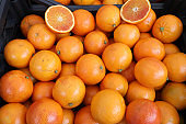 oranges grown with biological techniques without the use of chem
