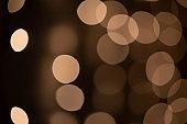 Golden Bokeh Lights