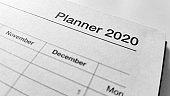 calendar 2020 planning