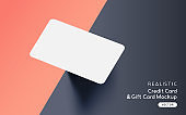 Brand Identity Blank Card Mockup