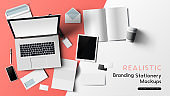Stationery And Office Mockup Elements