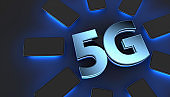 5G technology digital concept