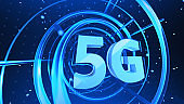 5G technology digital concept