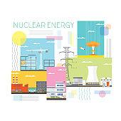 nuclear energy, nuclear power plant