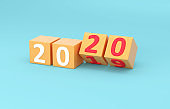 New Year 2020 Creative Design Concept