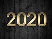 New Year 2020 Creative Design Concept