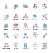 Modern Technology Flat Icons Pack