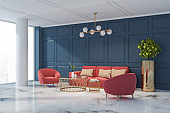 Living room design interior.
