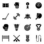 Pack Of Award Solid Icons