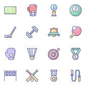 Pack Of Award Flat Icons