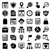 Web Glyph Icons  Pack