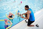 Women Doing Aqua Aerobics