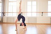 Teen Gymnast