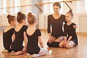 Children in Ballet Class