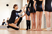 Ballet Class for Little Girls