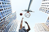 Playing Basketball