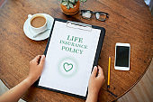 Life insurance policy contract