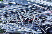 Stainless steel construction rubbish for recycle