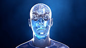 Brain in the human body