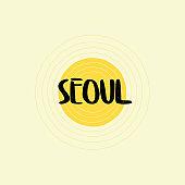 Seoul Lettering Design