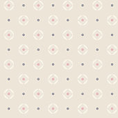 Elegant seamless pattern background with geometrical ornament