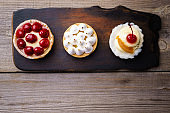 delicious cakes. home crafted sweet desserts