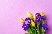 spring, Valentine, Mother's day flower composition