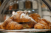 Soft leavened, baked and stuffed croissants with jams, marmalades or spreads.