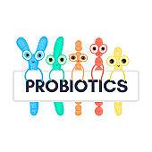 Probiotics. Bifidobacterium, lactobacillus, streptococcus thermophilus, lactococcus, propionibacterium