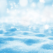 Background of shining snow