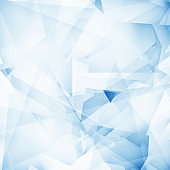 blue abstract geometric shiny transparent motion technology concept background
