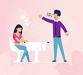Woman at Cafe Fell in Love with Restaurant Singer