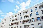 Modern multi-storey luxury housing concept