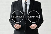 Business concepts, supply and demand