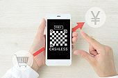 Cashless payment with smart phone